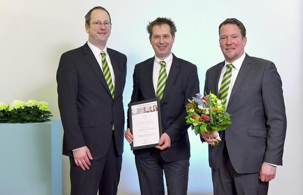Dr. Marc Dangers, Dipl.-Phys. Marc Mausch, Dr. Ole Roßbach, arztkonsultation.de, 1. Platz für das Projekt