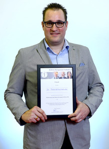 Oliver Gondolatsch, Ltg. Marketing und Kommunikation des Klinikums Essen, Publikumspreis für das Projekt