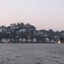 Blankenese - hier ist das Ufer geradezu gesäumt von Osterfeuern.