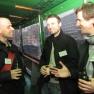 Bei einem zünftigen Hamburger Bier nutzen die Gäste die Veranstaltung zum Networken.
