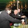 Rustikales Getränkebuffet an Bord