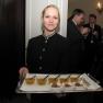 Champagner-Gelee und Schokoladenmousse mit Minze