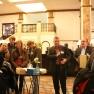 """Der Medizin-Management-Verbands lud bereits zum 3. Mal zur beliebten Hotelsafari durch die """"Grand Dame"""" an der Alster ein. In der gediegen-hanseatischen Atmosphäre des Foyers startete die Gruppe aus Führungskräften und Managern aus Medizin und Gesundheitswesen."""