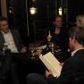 Der Abend klang gemütlich in der Bar des Hotels Atlantic aus - mit Drinks und entspannten Gesprächen.