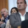 Das Publikum ist herzlich eingeladen, den Referenten Fragen zu stellen.