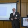 """Auch aus dem Bereich IT: Das Projekt \""""De-Pay - Die Revolution der Abrechnung im Gesundheitswesen\"""" - vorgestellt von Dieter Rittinger, CCO der HMM Deutschland GmbH."""