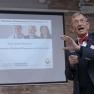 Schirmherr des Medizin-Management-Preises Prof. Dr. Heinz Riesenhuber, MdB, Alterspräsident des Deutschen Bundestages und Bundesforschungsminister a.D., begrüßt die Gäste.