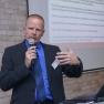 Marcus Kremers von der MedEcon Telemedizin GmbH stellt den Westdeutschen Teleradiologieverbund vor.