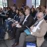 Im Publikum finden sich Akteure aus allen Branchen des Gesundheitswesens.