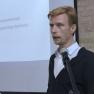 """Dr. Henning Kunter von der Universität zu Köln erläutert die """"Neugründung ZATO""""."""
