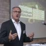 """Gerald Götz vom Städtischen Klinikum München spricht über das """"Krankenhaus 4.0"""", das mittels weltweit erreichbarer Private Cloud geschaffen wird."""