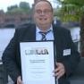 Auf dem ersten Platz: Dipl.-Päd. Jörn-Dieter Korsch, Geschäftsführer des Norddeutschen Epilepsiezentrums für Kinder und Jugendliche mit dem elektronischen Behandlungskalender EPI-Vista®.