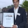 """Platz 2: Dr. med. Jan Hinrichs mit dem Projekt """"Weaning an der Lungenklinik Ballenstedt""""."""