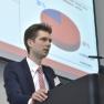 Philipp Gohmann von der DRV Knappschaft-Bahn-See erläutert das System zur elektronischen Behandlungsinformation (eBI).