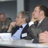 Das Auditorium verfolgt den Expertenvortrag von Thilo Zelt.