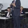 Das Auditorium fragt nach und diskutiert mit. Hier: Roger Sturm, Geschäftsführer QB International GmbH.