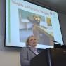 """Katharina Schriek vom Kinder- und Jugendkrankenhaus AUF DER BULT spricht über das """"Vergiss-mich-nicht-Projekt""""."""