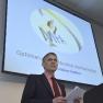 Das Ergonomiekonzept MFA in der Zahnmedizin wird von Dr. Adolf Rinne vorgestellt.