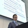 Martin Trillsch stellt die Forschungsdatenbank und elektronische Drittmittelanzeige der Medizinischen Fakultät der Universität Heidelberg vor.