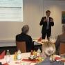 Bernd Buschhausen von der PR-Agentur Edelman präsentierte den Capital Staffer Index 2010