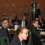 Das Publikum bestand aus Medizinern wie auch Gästen aus Personalwesen und Unternehmensberatung.