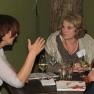 Beim anschließenden Get-together vertieften die Teilnehmer das Thema weiter.