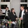Gedankenaustausch und Networking unter den Gästen.