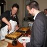 Ein italienisches Buffet rundete den Abend ab