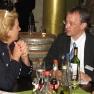 Bei einem Glas Wein wurde nach dem Vortrag über das Thema Dialogmarketing diskutiert