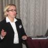 Caroline Bahnemann von der Uniklinik Mainz referierte über Krisenkommunikation
