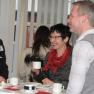 Bei einer Tasse Kaffee zwischen den Vorträgen konnten die Teilnehmer auch untereinander neue Kontakte knüpfen.