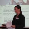 Alexandra Schramm vom Medizin-Management-Verband moderierte