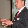 Dr. Florian Hentschel erläuterte die Situation der Honorarärzte
