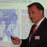 Dr. Florian Hentschel referierte zur Honorararztstudie