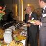 Das Restaurant des Logenhauses hatte für ein reichhaltiges Buffet zum Ausklang der Veranstaltung gesorgt.