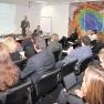 Das Publikum bestand aus Managern aus diversen Sektoren des Gesundheitsmarktes.
