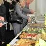 In der Mittagspause gab es ein reichhaltiges Buffet.