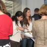 Die Teilnehmer fanden hier Zeit zum Austausch von Gedanken und Erfahrungen.
