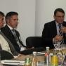 Drei Betreiber von Ärzte-Plattformen nahmen hierzu Stellung. Von links nach rechts: Tom Renneberg (Esanum), Robert Krause und Hans-Joachim Bilski (Colliquio).