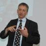 Dr. Peter Müller, Vorstandsvorsitzender der Stiftung Gesundheit, erläuterte in seinem Vortrag, wie professionelles Reputationsmanagement in Zeiten der Social Media aussieht.