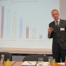 Zu Beginn des Workshops stellte Prof. Dr. Dr. Konrad Obermann die Ergebnisse einer GGMA-Studie zu der gegenwärtigen Fachmediennutzung von Ärzten - online und offline - vor.