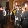 Zum Abschluss gibt es eine Führung durch das Kaiserin Friedrich-Haus, die auch die historische Bibliothek einschließt.