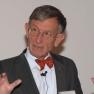 Schirmherr des Medizin-Management-Preises 2012 Prof. Dr. Heinz Riesenhuber spricht zum Thema