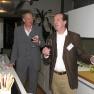 Der Sommelier Erik Wachsmuth (rechts) und Bodo Kröger aus dem Vorstand des Medizin-Management-Verbands