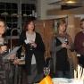 Sieben verschiedene Weine wurden verkostet - das Publikum lauschte interessiert den jeweiligen Herkunfts-Geschichten.